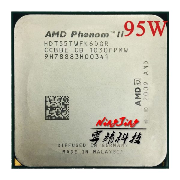 AMD Phenom II X6 1055T 1055 2 8G 95W Six Core CPU processor HDT55TWFK6DGR Socket AM3 AMD Phenom II X6 1055T 1055 2.8G 95W Six-Core CPU processor HDT55TWFK6DGR Socket AM3