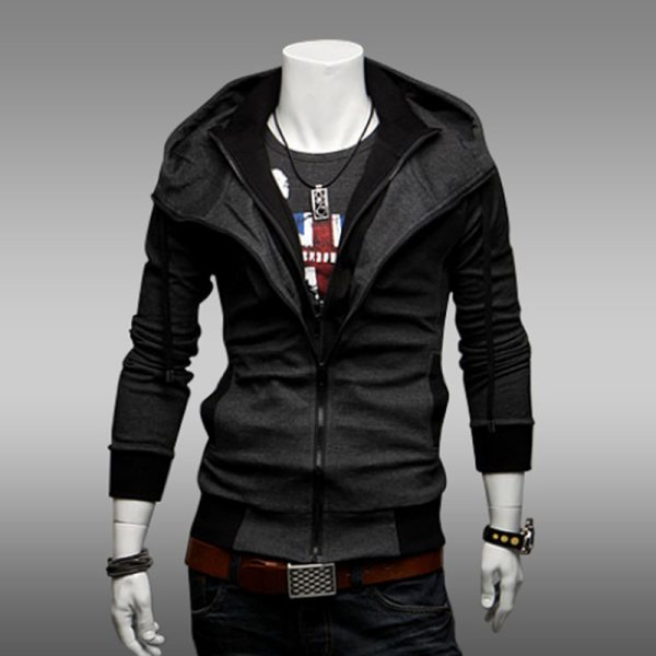 Bigsweety Fashion 2018 New Autumn Winter Men s Jacket Male Color Matching Jacket Male s Hooded 5 Bigsweety Fashion 2018 New Autumn Winter Men's Jacket Male Color Matching Jacket Male's Hooded Coat Outwear