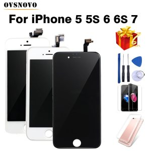 Black White Assembly LCD Display Digitizer for iPhone 6s AAA Quality LCD Touch Screen for iPhone Innrech Market.com