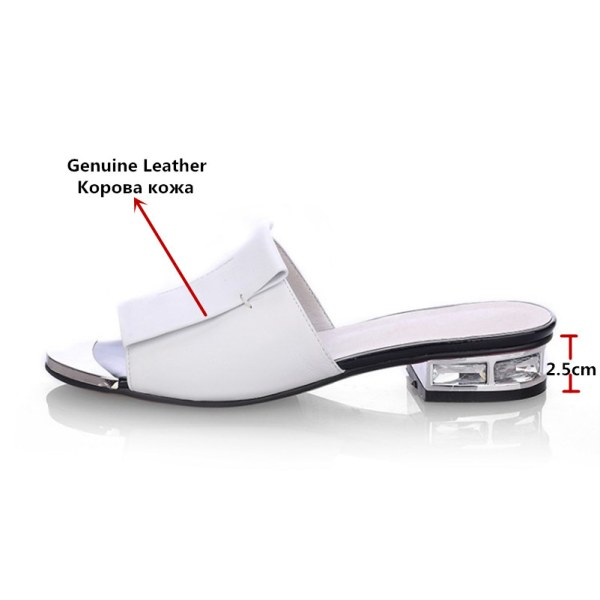 FEDONAS 2019 New Women Summer High Quality Square High Heels Pumps Genuine Leather Shoes Woman Sandals 1 FEDONAS 2019 New Women Summer High Quality Square High Heels Pumps Genuine Leather Shoes Woman Sandals Open Toe Ladies Slippers