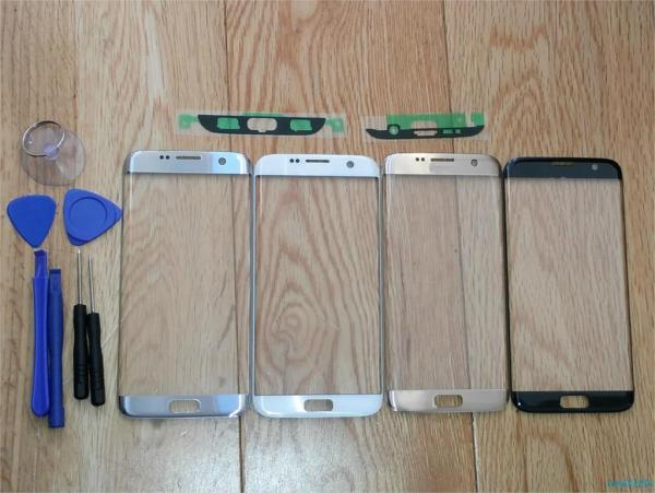 For Samsung s7 edge G935F G935A LCD display outer touch panel screen glass replacement Front Glass For Samsung s7 edge G935F G935A LCD display outer touch panel screen glass replacement Front Glass Lens Stickers