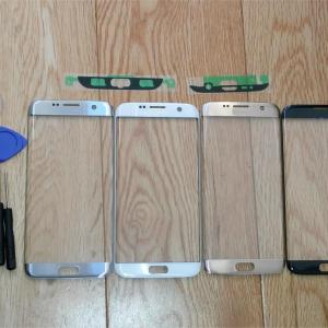 For Samsung s7 edge G935F G935A LCD display outer touch panel screen glass replacement Front Glass Innrech Market.com