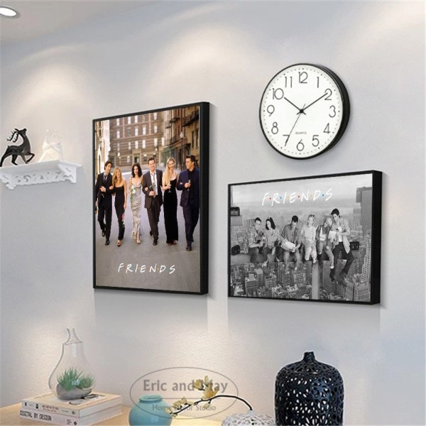 Friends TV Show Classic Quote Posters and Prints Wall art Decorative Picture Canvas Painting For Living 1 Friends TV Show Classic Quote Posters and Prints Wall art Decorative Picture Canvas Painting For Living Room Home Decor Unframed
