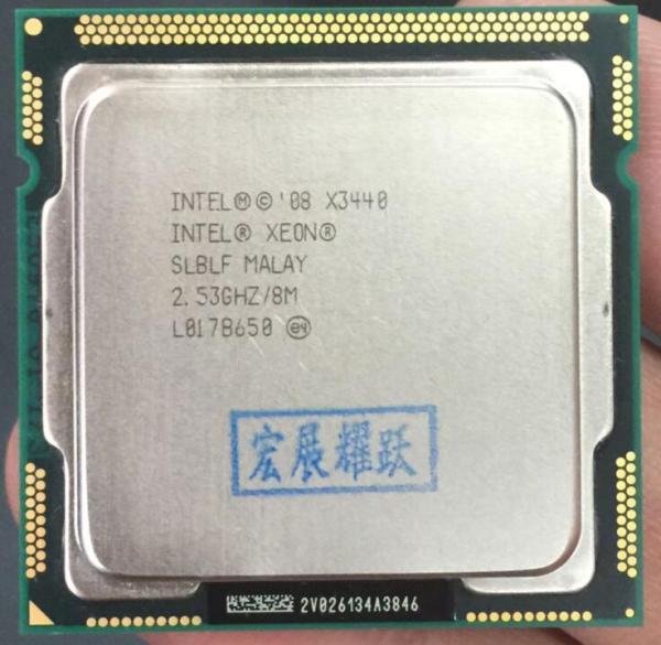 Intel Xeon Processor X3440 Quad Core 8M Cache 2 53 GHz LGA1156 CPU 100 working properly Intel Xeon Processor X3440 Quad-Core (8M Cache, 2.53 GHz)) LGA1156 CPU 100% working properly Desktop Processor
