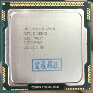 Intel Xeon Processor X3440 Quad Core 8M Cache 2 53 GHz LGA1156 CPU 100 working properly Innrech Market.com