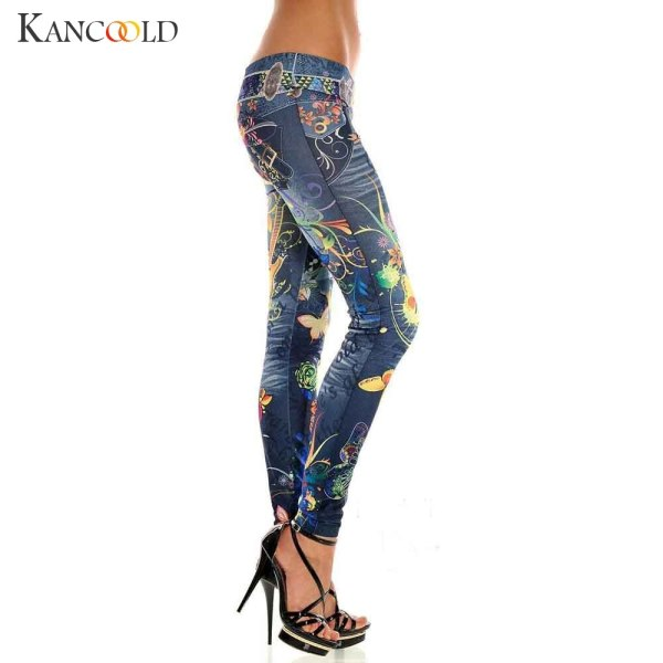 KANCOOLD jeans Sexy Womens Skinny Blue Jean Denim Stretchy Jeggings Pants fashion Snowflake jeans woman 2018Oct23 1 KANCOOLD jeans Sexy Womens Skinny Blue Jean Denim Stretchy Jeggings Pants fashion Snowflake jeans woman 2018Oct23