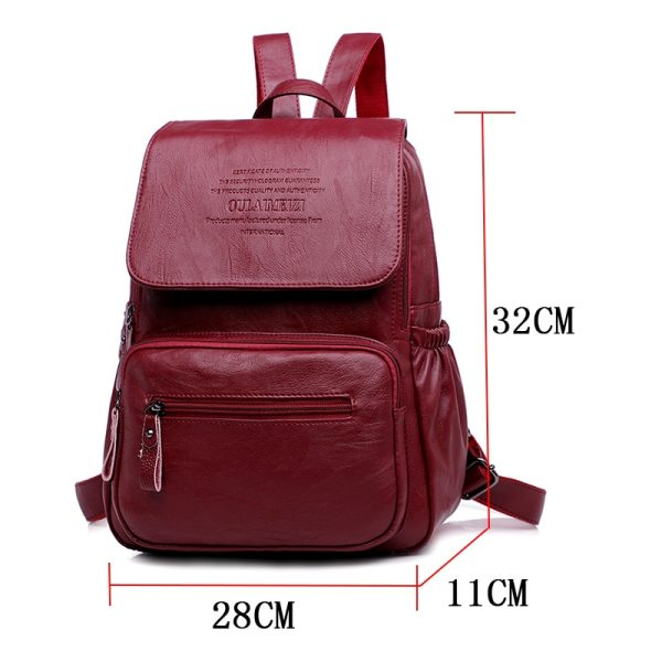 LANYIBAIGE 2018 Women Backpack Designer high quality Leather Women Bag Fashion School Bags Large Capacity Backpacks LANYIBAIGE 2018 Women Backpack Designer high quality Leather Women Bag Fashion School Bags Large Capacity Backpacks Travel Bags