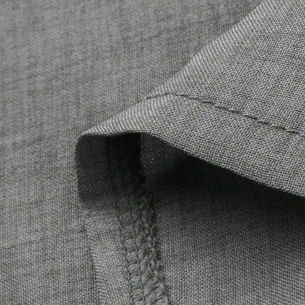 Large Plus Size Best Sale 2019 Women s Solid Boho Turn down Collar Dress 3 4 4 Large Plus Size !!Best Sale 2019 Women's Solid Boho Turn-down Collar Dress 3/4 Sleeve Casual Pocket Button Dress Vestido @6