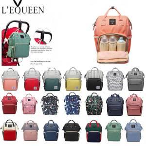Lequeen Fashion Mummy Maternity Nappy Bag Brand Large Capacity Baby Bag Travel Backpack Designer Nursing Bag Innrech Market.com