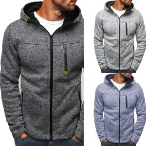 Men Classic Hoodies Sweatershirt Autumn Zipper Patchwork Cardigan Sweatershirt Male Causal Streetwear Hip Hop Streetwear Innrech Market.com
