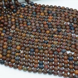 Natural Pietersite Stone Loose Round Beads 8mm 10mm Innrech Market.com
