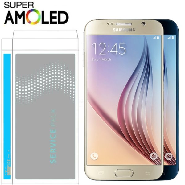 ORIGINAL 5 1 AMOLED Burn in Shadow LCD with Frame for SAMSUNG Galaxy S6 Display G920 ORIGINAL 5.1'' AMOLED Burn-in Shadow LCD with Frame for SAMSUNG Galaxy S6 Display G920 G920F Touch Screen Digitizer Assembly