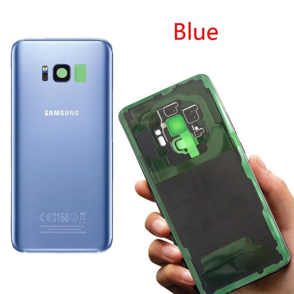 ORIGINAL Back Glass for SAMSUNG Galaxy S8 G950 G950F Display S8 Plus G955 G955F Battery Cover 3 ORIGINAL Back Glass for SAMSUNG Galaxy S8 G950 G950F Display S8 Plus G955 G955F Battery Cover Rear Door Housing with Camera Lens