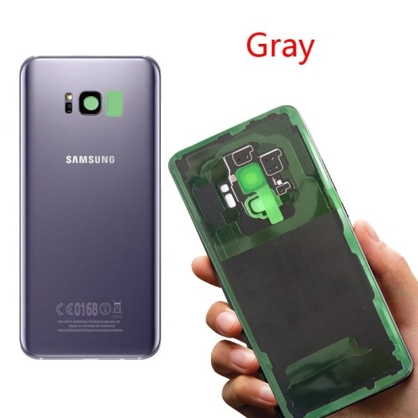 ORIGINAL Back Glass for SAMSUNG Galaxy S8 G950 G950F Display S8 Plus G955 G955F Battery Cover 4 ORIGINAL Back Glass for SAMSUNG Galaxy S8 G950 G950F Display S8 Plus G955 G955F Battery Cover Rear Door Housing with Camera Lens