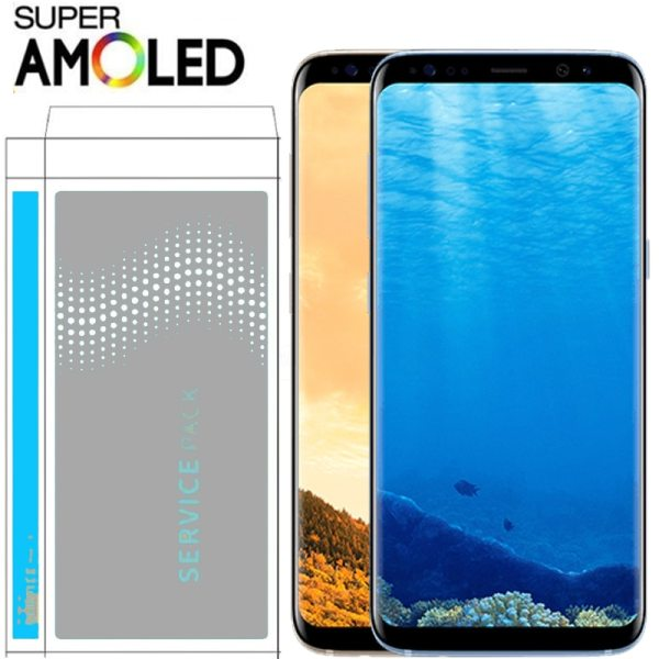 ORIGINAL SUPER AMOLED S8 LCD with Frame for SAMSUNG Galaxy S8 G950 G950F Display S8 Plus ORIGINAL SUPER AMOLED S8 LCD with Frame for SAMSUNG Galaxy S8 G950 G950F Display S8 Plus G955 G955F Touch Screen Digitizer