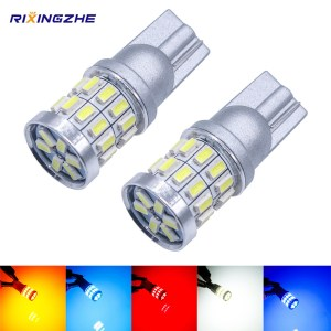 RXZ 1PCS w5w led T10 LED Bulbs Canbus 18SMD 3014 For Car Parking Position Lights Interior Innrech Market.com