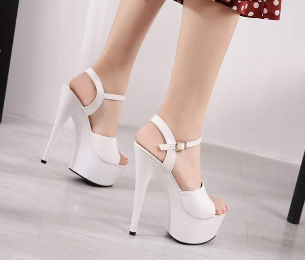 Sandals Shoes Woman Clear Heels Platform 2019 Beach Sexy Sandals Wedding Shoes Steel Tube Dancing Girl Sandals Shoes Woman Clear Heels Platform 2019 Beach Sexy Sandals Wedding Shoes Steel Tube Dancing Girl Stripper Shoes Open Toe