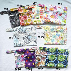 Sigzagor 1 Small Mini Wet Bag Reusable for Mama Cloth Sanitary Menstrual Maternity Pad Tampon Innrech Market.com