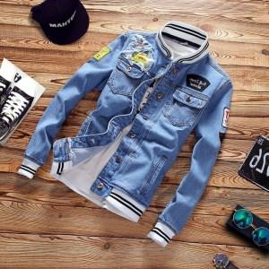 Spring Trend Casual Loose Jacket Men s Denim Jackets Slim Fit 2019 New Men Fashion Cool Innrech Market.com