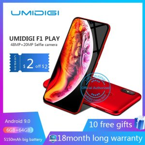 UMIDIGI F1 Play Android 9 0 48MP 8MP 16MP Cameras 5150mAh 6GB RAM 64GB ROM 6 Innrech Market.com