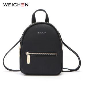 WEICHEN New Designer Fashion Women Backpack Mini Soft Touch Multi Function Small Backpack Female Ladies Shoulder Innrech Market.com