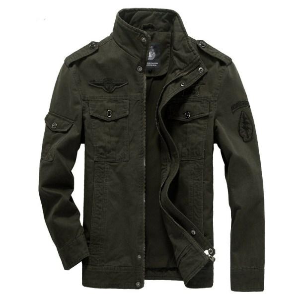 Winter Cargo Plus Size M XXXL 5XL 6XL Casual Man Jackets Army Clothes Brand 2018 Mens 4 Winter Cargo Plus Size M-XXXL 5XL 6XL Casual Man Jackets Army Clothes Brand 2018 Mens Green Khaki 3 Colors Military Jacket