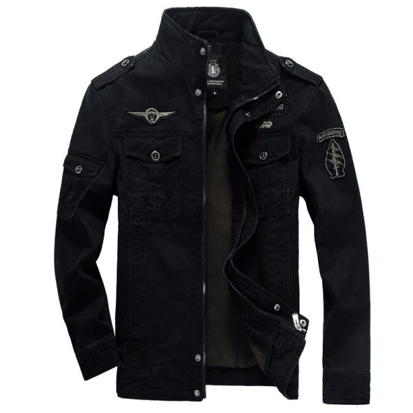 Winter Cargo Plus Size M XXXL 5XL 6XL Casual Man Jackets Army Clothes Brand 2018 Mens 5 Winter Cargo Plus Size M-XXXL 5XL 6XL Casual Man Jackets Army Clothes Brand 2018 Mens Green Khaki 3 Colors Military Jacket
