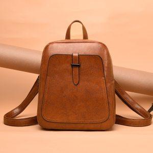 Women Backpacks Bags Leather Backpack Small Backpack Korean Fashion Bag Leisure PU Shoulder Bag Female Student Innrech Market.com
