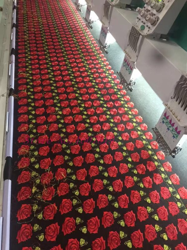 1Pcs Big Patches Brand Shine Sequin 3D Sticker Stickers Wing Rose Embroidery Motif Applique Garment Kids 5 1Pcs Big Patches Brand Shine Sequin 3D Sticker Stickers Wing Rose Embroidery Motif Applique Garment Kids Women DIY Clothes Badge