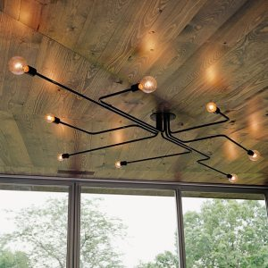 American Retro Style Iron Ceiling Lamps 4 6 8 Head Flush Mount Ceiling Light Indoor Lighting Innrech Market.com
