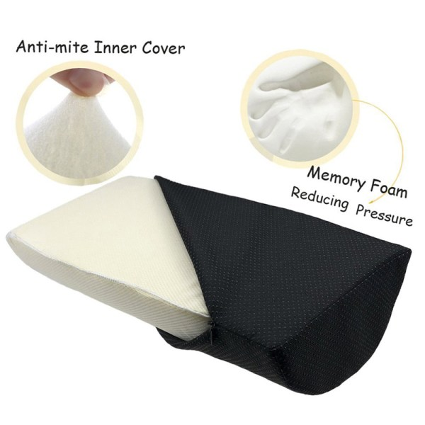 Comfort Foot Rest Pillow Cushion Memory Foam Under Office Desk Half Cylinder Home Foot Relax Pain 5 Comfort Foot Rest Pillow Cushion Memory Foam Under Office Desk Half Cylinder Home Foot Relax Pain Relief Relaxing Cushion Pad
