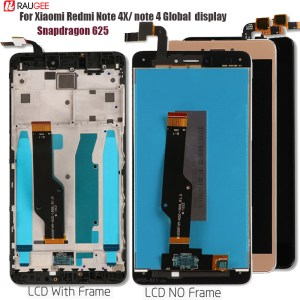 For Xiaomi Redmi Note 4X 4 Global LCD Display Touch Screen Replacement for Redmi Note 4 Innrech Market.com