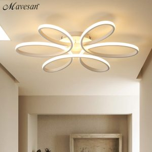 Modern LED Ceiling Lights Remote control for Living room Bedroom 78W 72W 90W 120W Aluminum boby Innrech Market.com