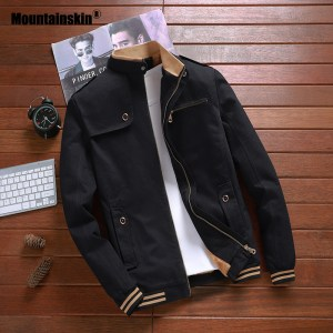 Mountainskin New Autumn Jackets Men Pilot Bomber Jacket Male Fashion Baseball Coats Slim Fit Coat Mens Innrech Market.com