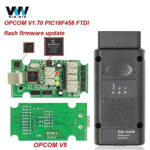 OPCOM V5 For Opel OP COM 1 70 flash firmware update OP COM 1 95 PIC18F458 Innrech Market.com