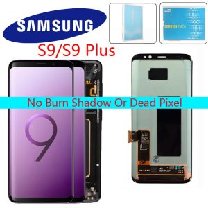 ORIGINAL AMOLED Screen for SAMSUNG Galaxy S9 Lcd Screen S9plus LCD Screen G960 G965 Touch Screen Innrech Market.com
