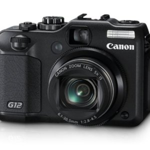 Used Canon G12 10 MP Digital Camera with 5x Optical Image Stabilized Zoom and 2 8 Innrech Market.com