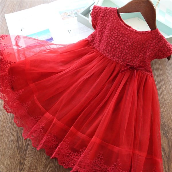 Girls Dresses 2019 Fashion Girl Dress Lace Floral Design Baby Girls Dress Kids Dresses For Girls 2 Girls Dresses 2019 Fashion Girl Dress Lace Floral Design Baby Girls Dress Kids Dresses For Girls Casual Wear Children Clothing