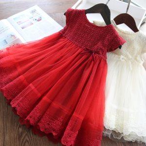 Girls Dresses 2019 Fashion Girl Dress Lace Floral Design Baby Girls Dress Kids Dresses For Girls Innrech Market.com