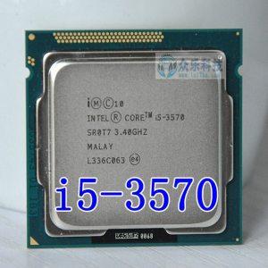 Intel I5 3570 i5 3570 Processor Quad Core 3 4Ghz L3 6M 77W Socket LGA 1155 Innrech Market.com
