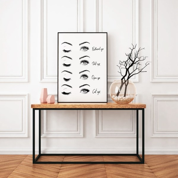 Modern Fashion Eyelash Extensions Prints Makeup Wall Art Canvas Painting Picture Nordic Poster Beauty Salon Decor 1 Modern Fashion Eyelash Extensions Prints Makeup Wall Art Canvas Painting Picture Nordic Poster Beauty Salon Decor Girls Gift