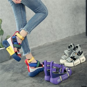 Platform Sandals Women Shoes 2019 Summer Super High Heels Ladies Casual Shoes Wedge Chunky Sandals Gladiator Innrech Market.com
