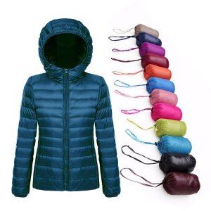 Plus Size 5XL 6XL 7XL Winter Down Jacket Women Eiderdown Outwear Winter Warm Coat Ultralight White Innrech Market.com