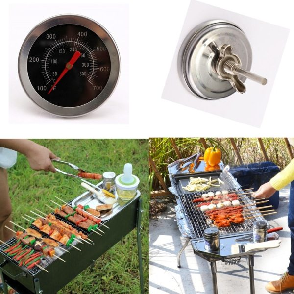 Stainless steel BBQ Accessories Grill Meat Thermometer Dial Temperature Gauge Gage Cooking Food Probe Household Kitchen 3 Stainless steel BBQ Accessories Grill Meat Thermometer Dial Temperature Gauge Gage Cooking Food Probe Household Kitchen Tools
