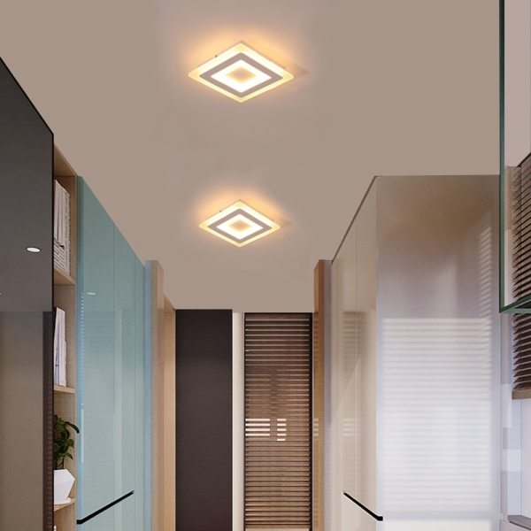 Surface Mounted Modern Led Ceiling Lights for living room bedroom Ultra thin lamparas de techo Rectangle 4 Surface Mounted Modern Led Ceiling Lights for living room bedroom Ultra-thin lamparas de techo Rectangle Ceiling lamp fixtures
