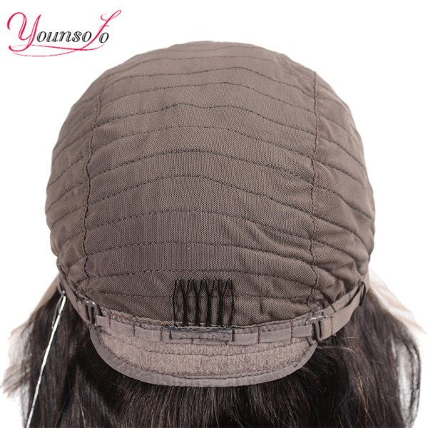Younsolo 13x4 Lace Front Human Hair Wigs For Black Women Remy Brazilian Water Wave Lace Front 5 Younsolo 13x4 Lace Front Human Hair Wigs For Black Women Remy Brazilian Water Wave Lace Front Wig Pre Plucked With Baby Hair