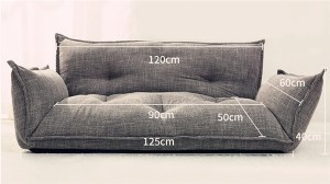 image0 2 Lazy Sofa, Tatami Small Huxing Double Japanese Dual-purpose Reading Bedroom, Balcony, Leisure Folding Sofa Bed