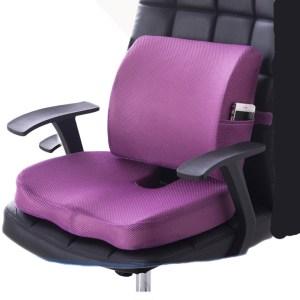 Chair Cushion 2pcs Office Car Memory Foam Pillow Set Spine Coccyx Protect Seat Office Sofa Chair Innrech Market.com