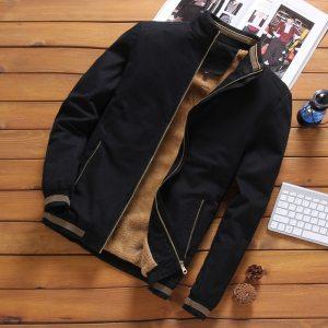 DIMUSI Autumn Mens Bomber Jackets Casual Male Outwear Fleece Thick Warm Windbreaker Jacket Mens Military Baseball Innrech Market.com
