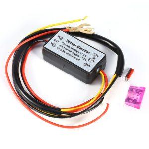DRL Controller Auto Car LED Daytime Running Lights Controller Relay Harness Dimmer On Off 12 18V Innrech Market.com